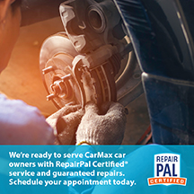 CarMax owners, auto repairs